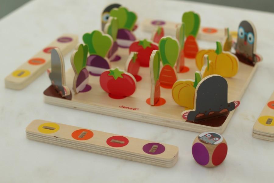 pierwsza gra planszowa Marysi - Strzeż się kreta