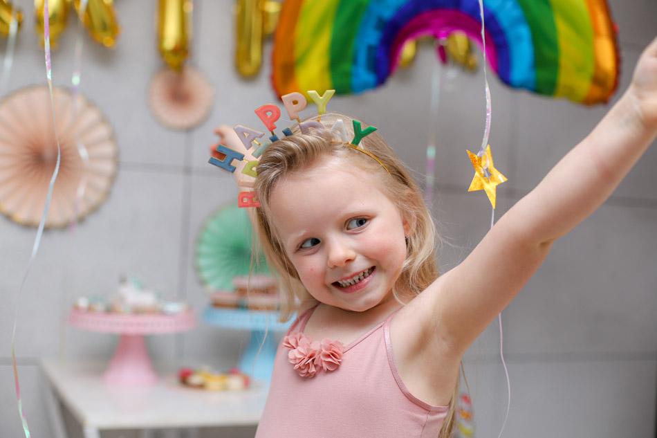 Kocham Jednorożce – 5 urodziny Marysi